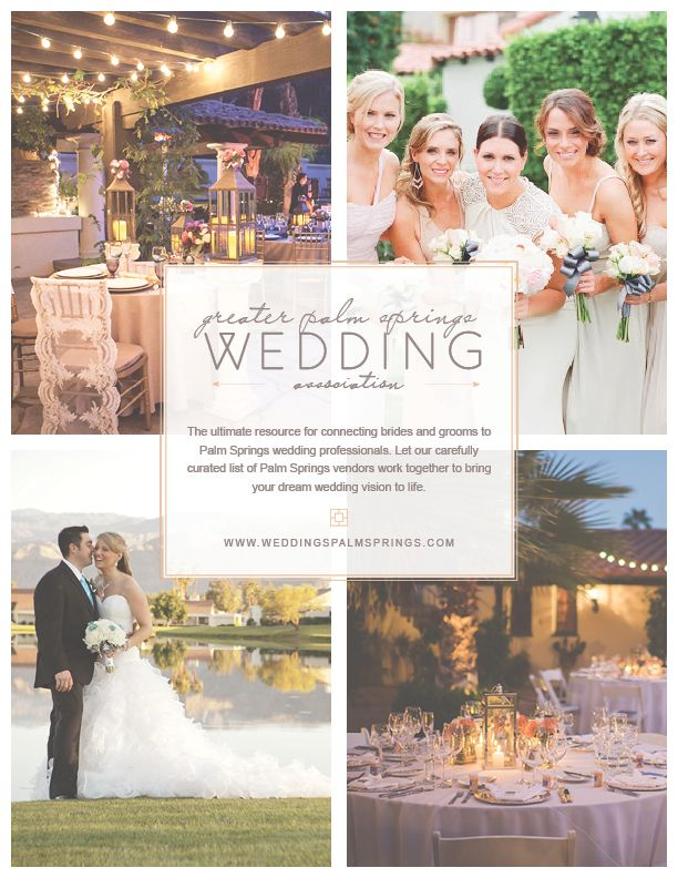 Brand Ideny Website Greater Palm Springs Wedding Ociation