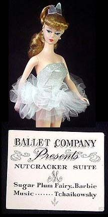 Vintage Barbie Ballerina 989 1961 1965 Have The Complete Vintage Outfit Vintage Barbie Vintage Barbie Dolls Ballerina Barbie