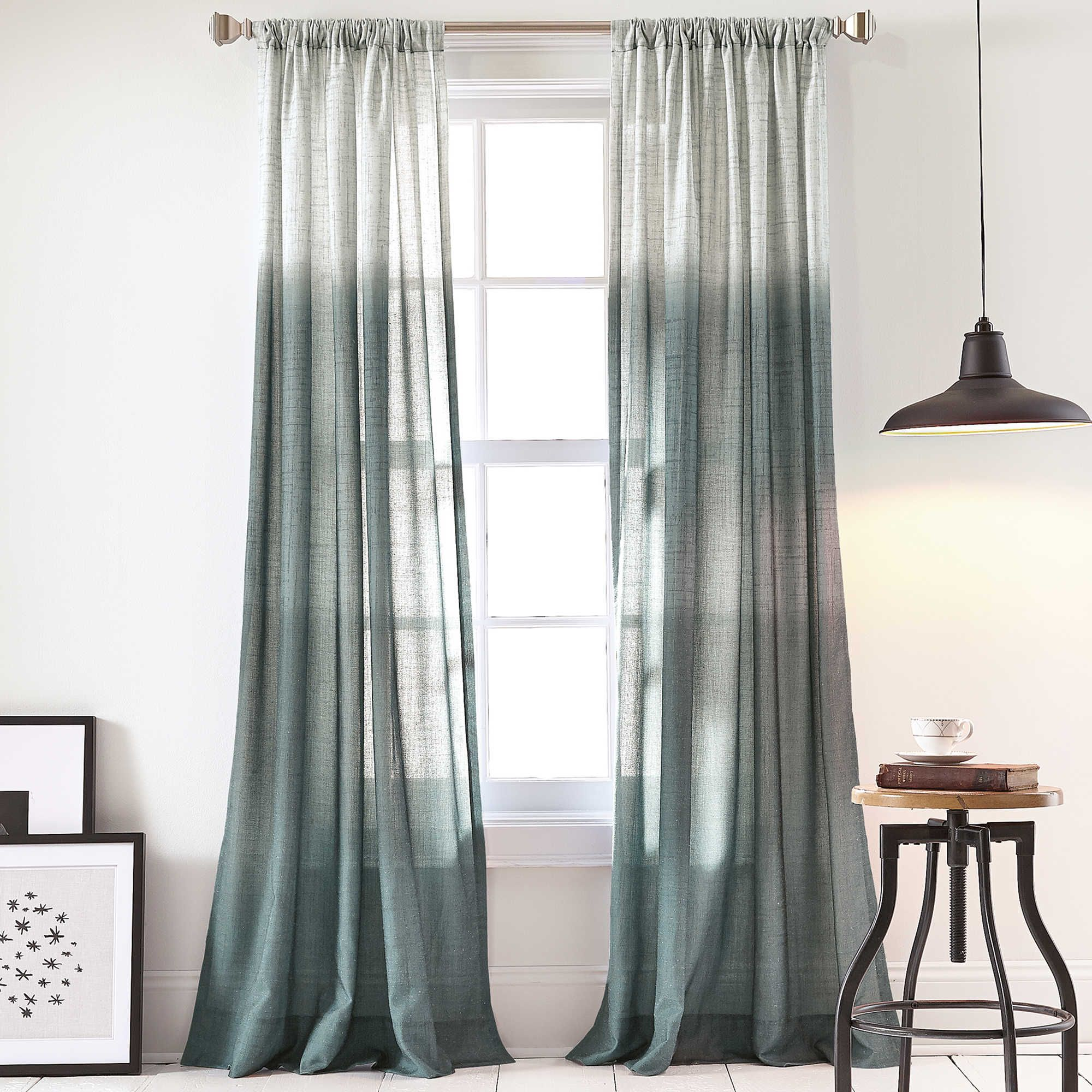 walmart com curtain ip scarf curtains panels ombre