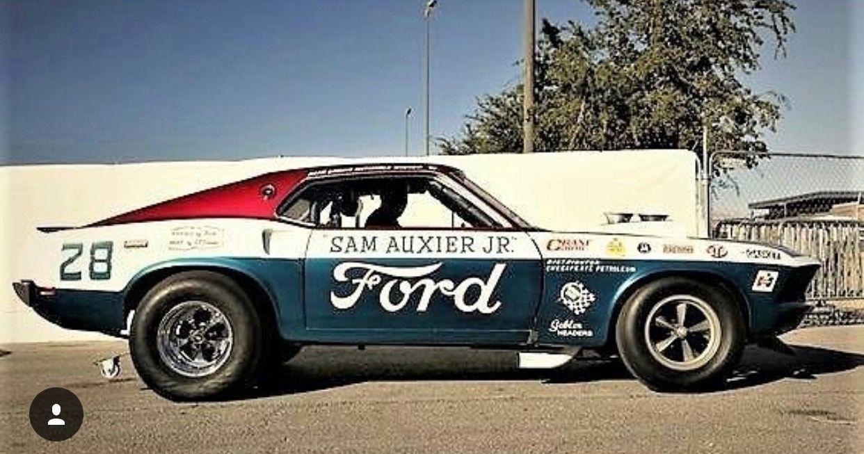 69 Mustang race car