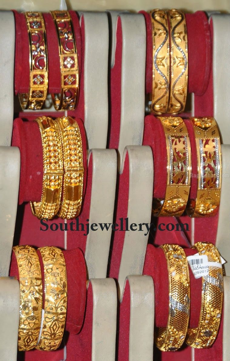gold broad bangles | Bangdi | Pinterest | Bangle, Gold and Gold ...