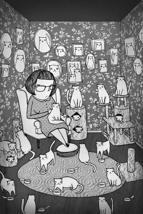Cat Lady REALNESS!