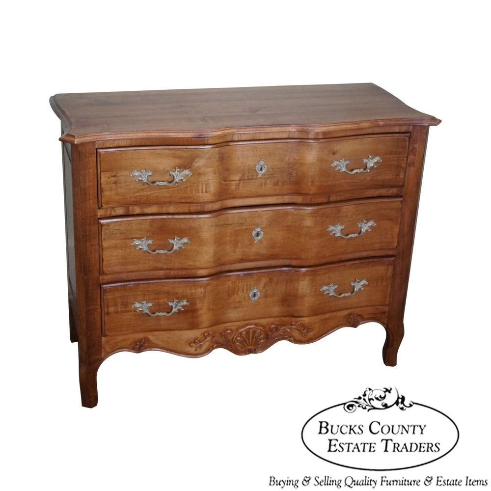 Ethan Allen Bedroom Sets Zen Type Bedroom Design Eiffel Tower Bedroom Decor Italian Bedroom Furniture Online: Ethan Allen French Country Style 3 Drawer Maple Chest