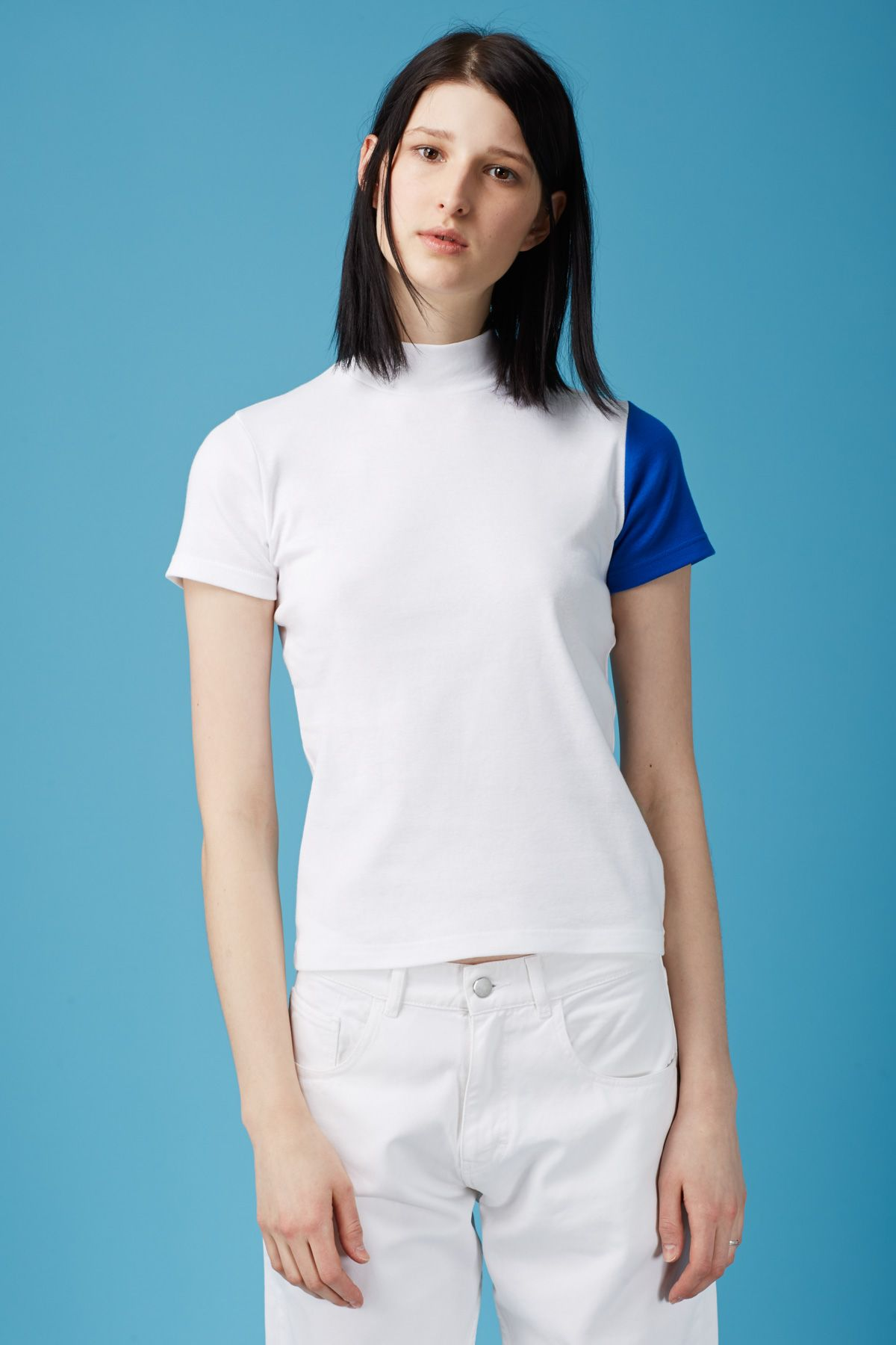 a08cc29b1 Jacquemus Le T-Shirt Col Haut | Summer in 2019 | Shirts, Clothes, Tops