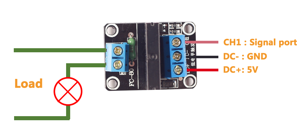 d38e8f76381e689dd06dbece4fb1ca77 1 channel 5v solid state relay module wiki all things arduino solid state relay wiring diagram at soozxer.org