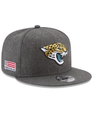 6390f432dde61 New Era Jacksonville Jaguars Crafted In America 9FIFTY Snapback Cap -  Carbon Heather Adjustable