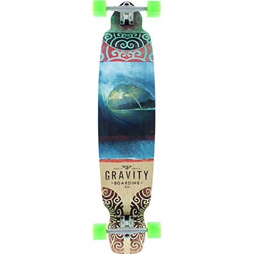 Gravity Skateboards Rainbow Barrel Drop Kick Complete Skateboard 95 X 43 Details Can Be Found By Clicking With Images Complete Skateboards Skateboard Cool Skateboards