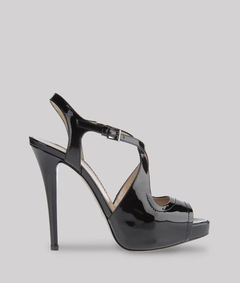 Emporio Armani Patent Leather High Heeled Sandals  Accessories  Shoes (a  favourite repin of b80bbbe3afd