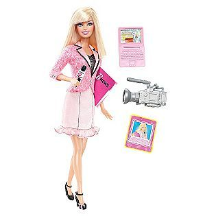 Barbie I Can Be A News Anchor