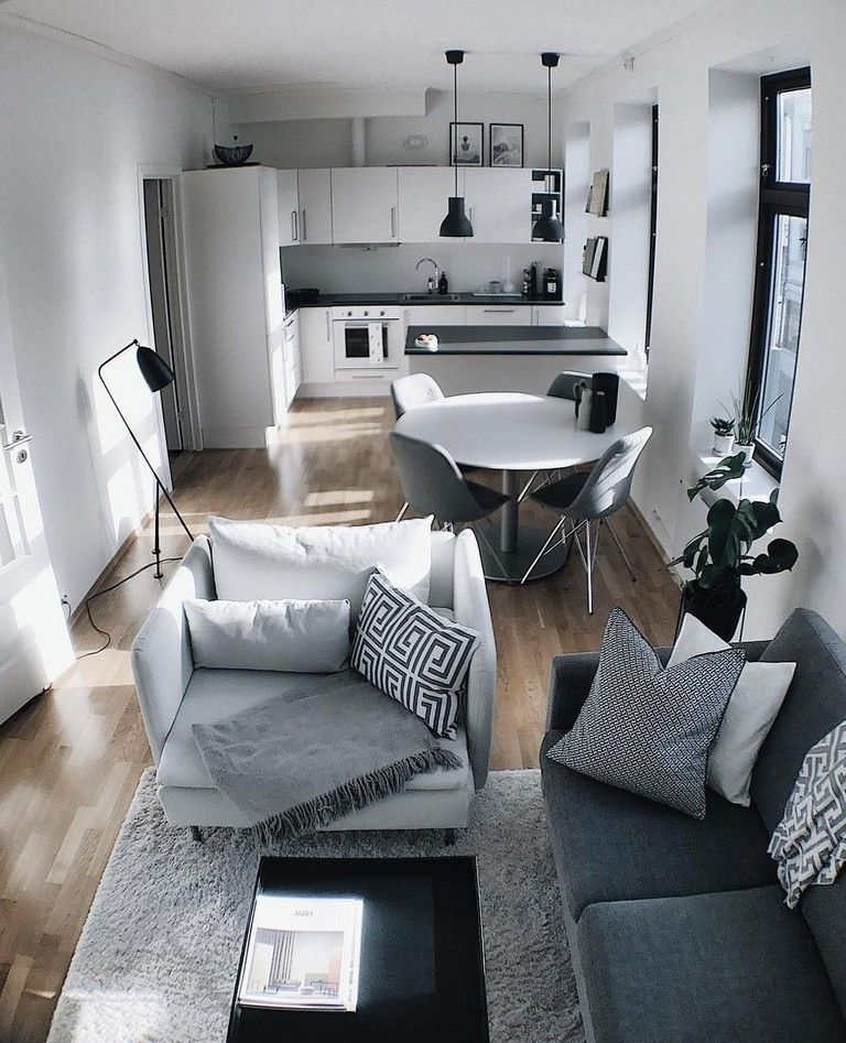 55+ Smart DIY Small Apartment Decorating Ideas on A Budget #smallapartmentliving