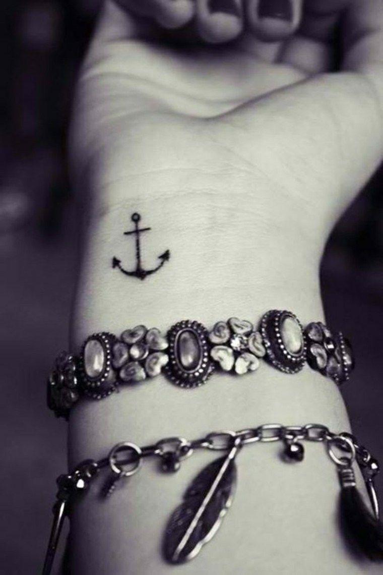 Anclas De Tatuajes Para Mujer pin en tatuajes