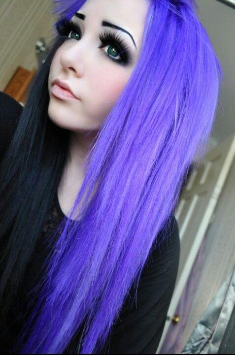 #LoveHair #Color #Black #Violet
