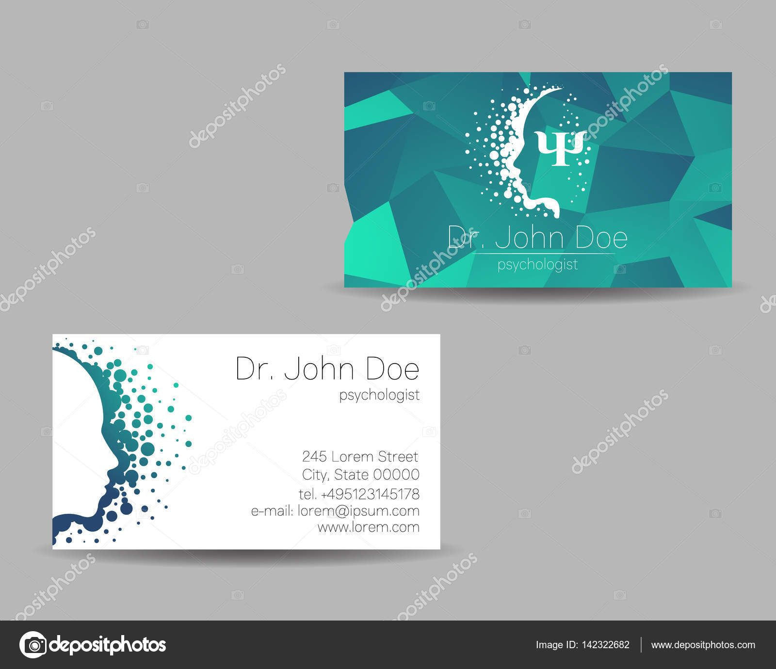Image result for clinical psychologist business cards for Psychology business cards