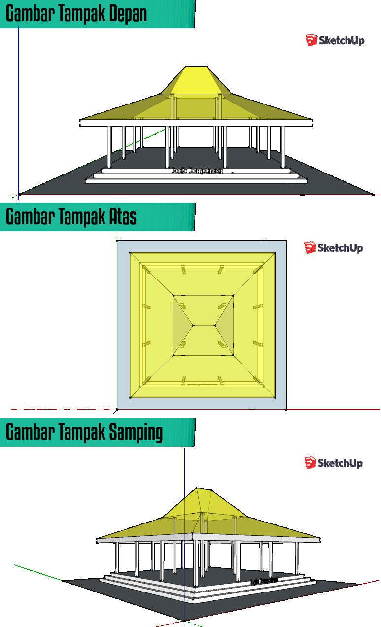 desain gapura vector - Design Arsitektur