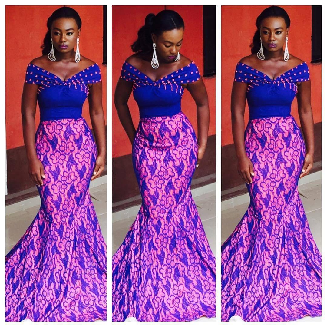 Hermosa Africano Americano Vestidos De Dama Viñeta - Vestido de ...