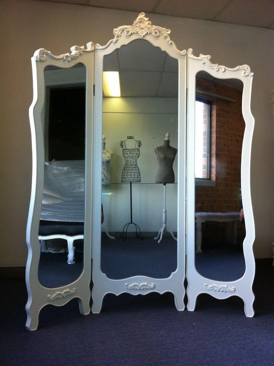 Full Length Dressing Room Mirror 7 Vanities