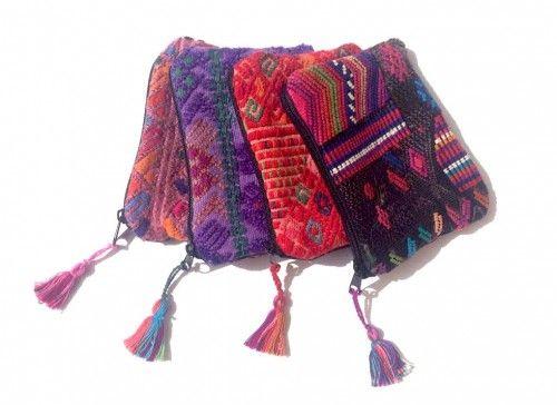 Maya Cosmetic Bag-XS (BGG032-XS) - Guatemala
