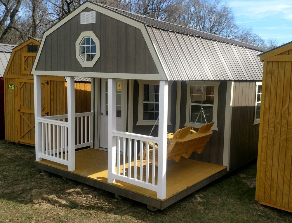 Best Amish Built Modular Garage Shed Cabin Barn Tiny House No 400 x 300