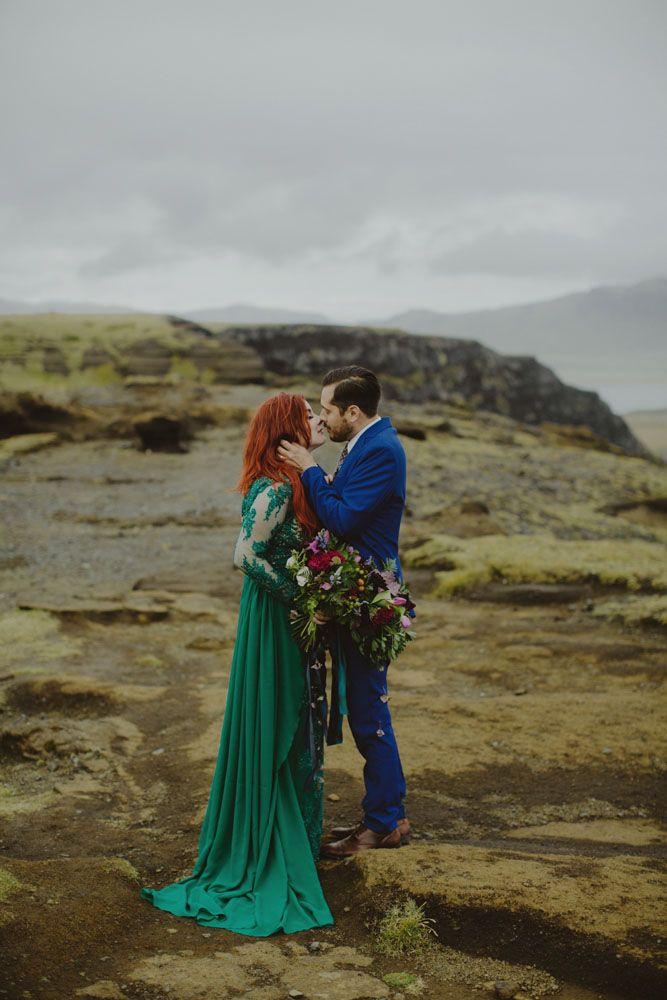 Incredible Icelandic Elopement