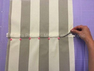 Cucire Cuscini.Come Cucire Un Cuscino Con Cerniera Nascosta Cucito Cucire