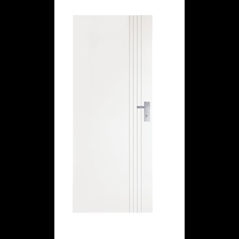 Hume 2040 X 820 X 40mm Linear Entrance Door Entrance Doors Doors