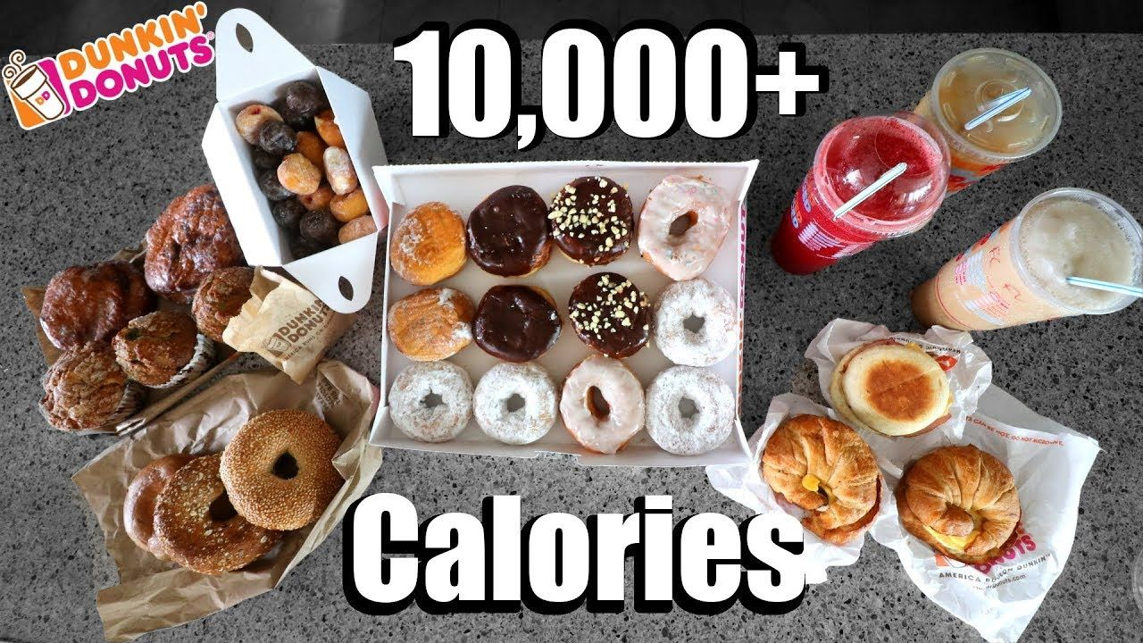 Dunkin donuts 10000 calorie challenge good video like