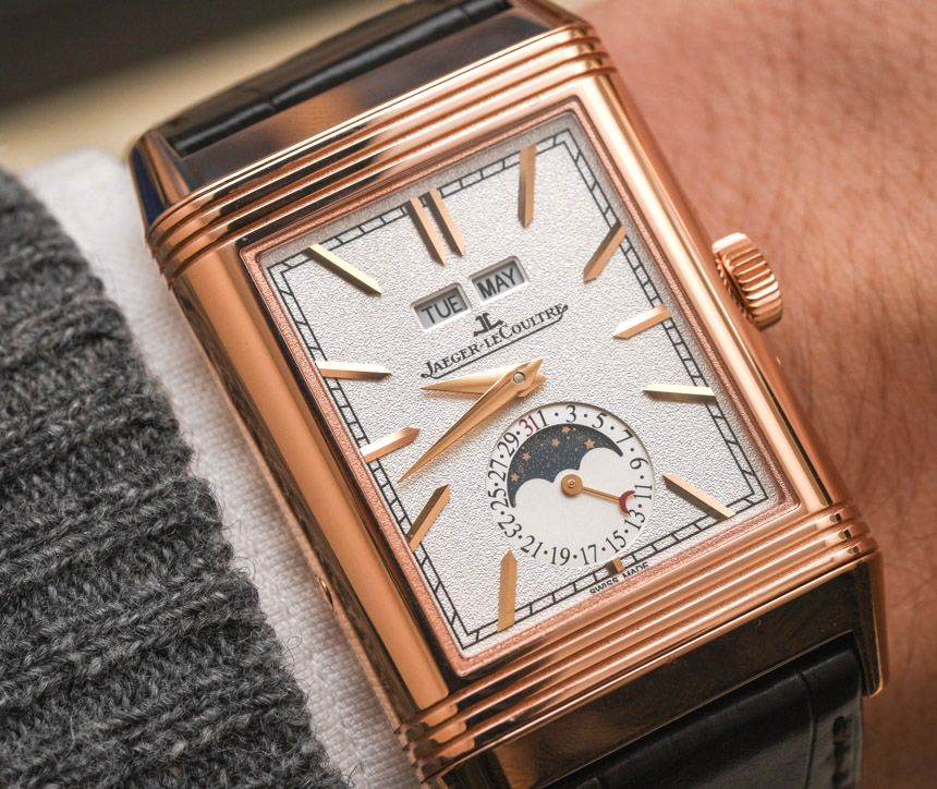 on ablogtowatch bredan david and falls call a gyrotourbillon when us with tribute silvered lecoultre wrist dial it has reverso let grained to dauphine jaeger of watch the front righthand side crown watches hands that