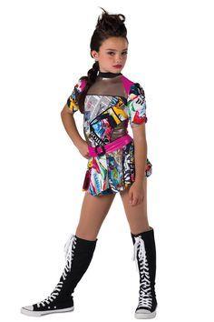 Hip Hop Detail Dansco Dance Costumes And Recital Wear Dance In