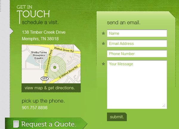 25 Creative Contact Form Designs HW Pinterest Contact form - leave request form