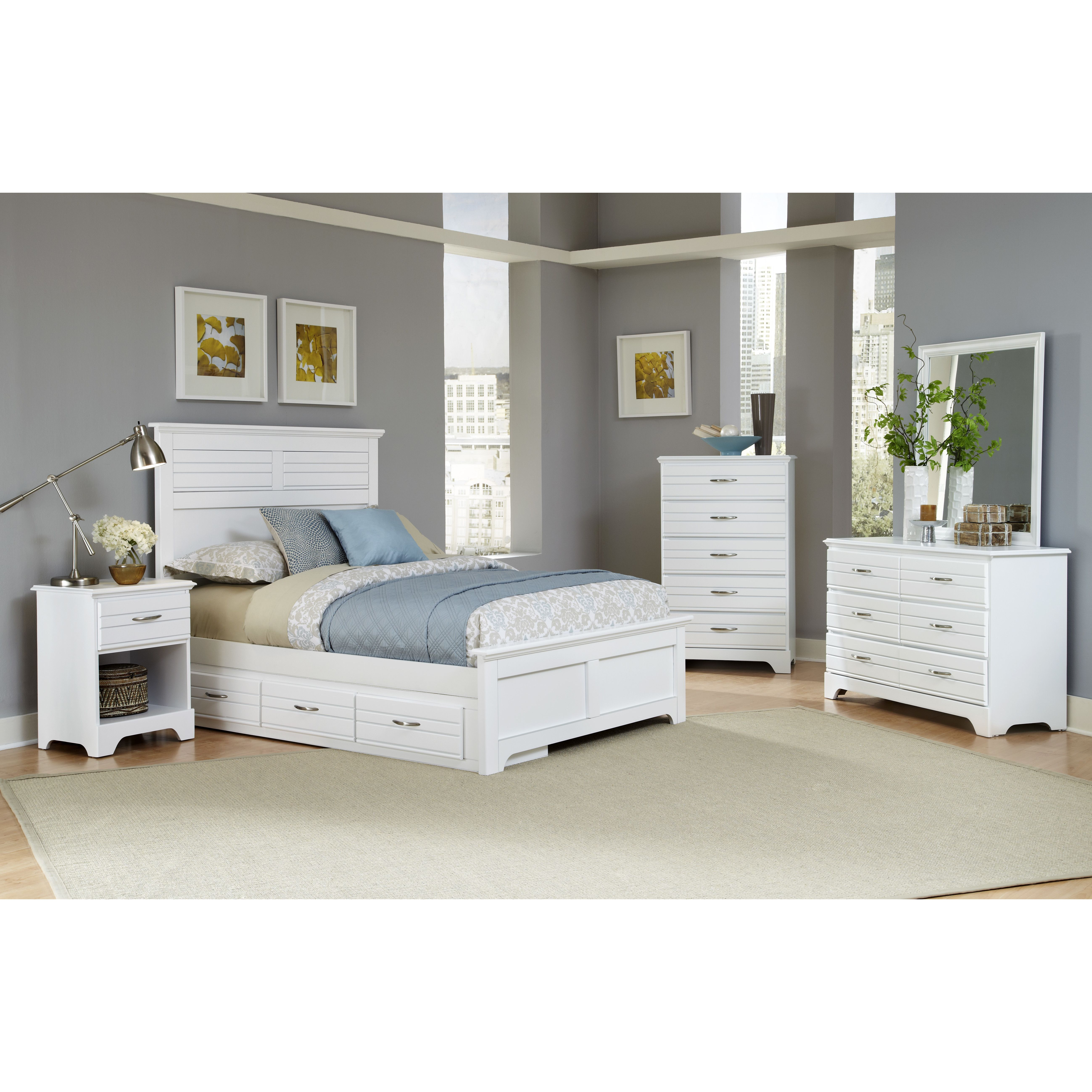 Carolina Furniture Works, Inc. Platinum Wood Headboard