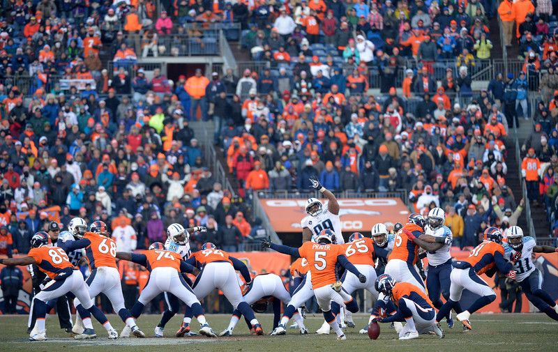MATT PRATER... sets the new NFL record with a 64 YARD
