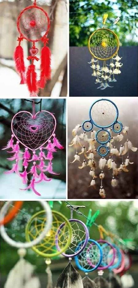 How To Make Dream Catchers Easy Diy Easy To Make Dreamcatcher  Diy Projects  Pinterest  Easy