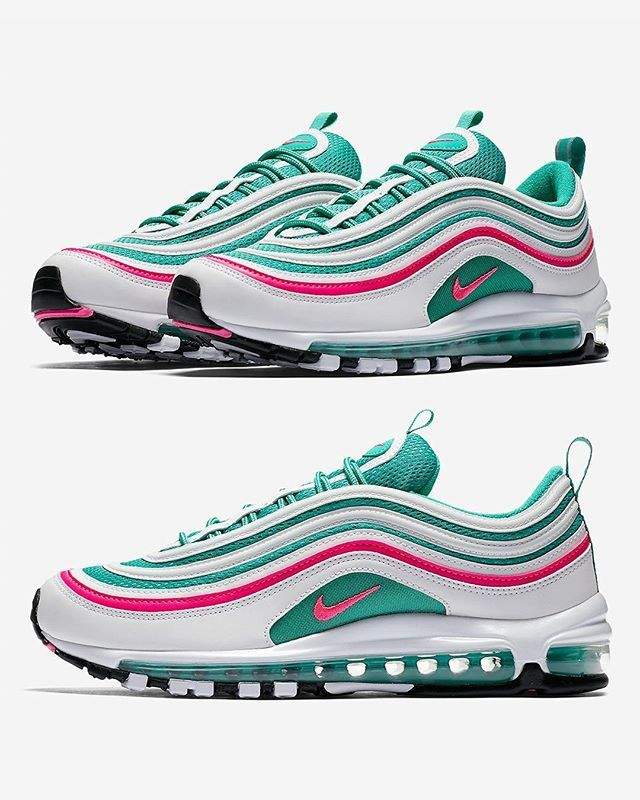 premium selection 43dc8 80658 Transport yourself to the sunny climes of Miami with the NIKE AIR MAX 97  SOUTH BEACH