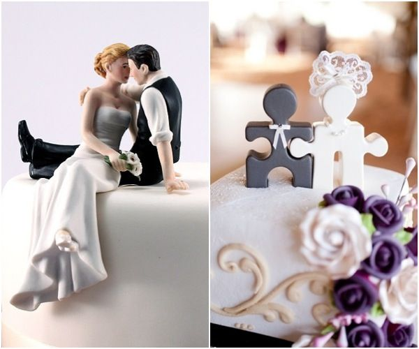 Top it Off Unique Wedding Cake Toppers for the Creative Couple
