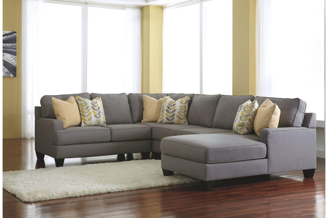 ashley furniture chaise sofa. Ashley Furniture Chamberly-Alloy Sectional U Shaped Chaise Sofa San Diego Ca, Los Angeles, Huntington Beach Orange County California A