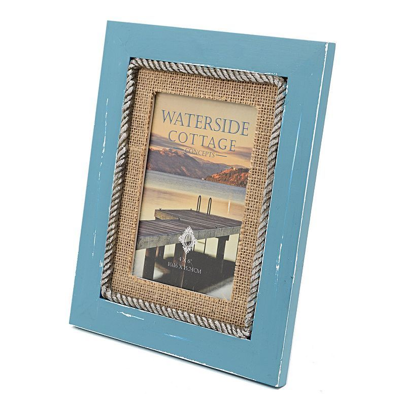 Concepts In Time 4 X 6 Rope Burlap Frame Products