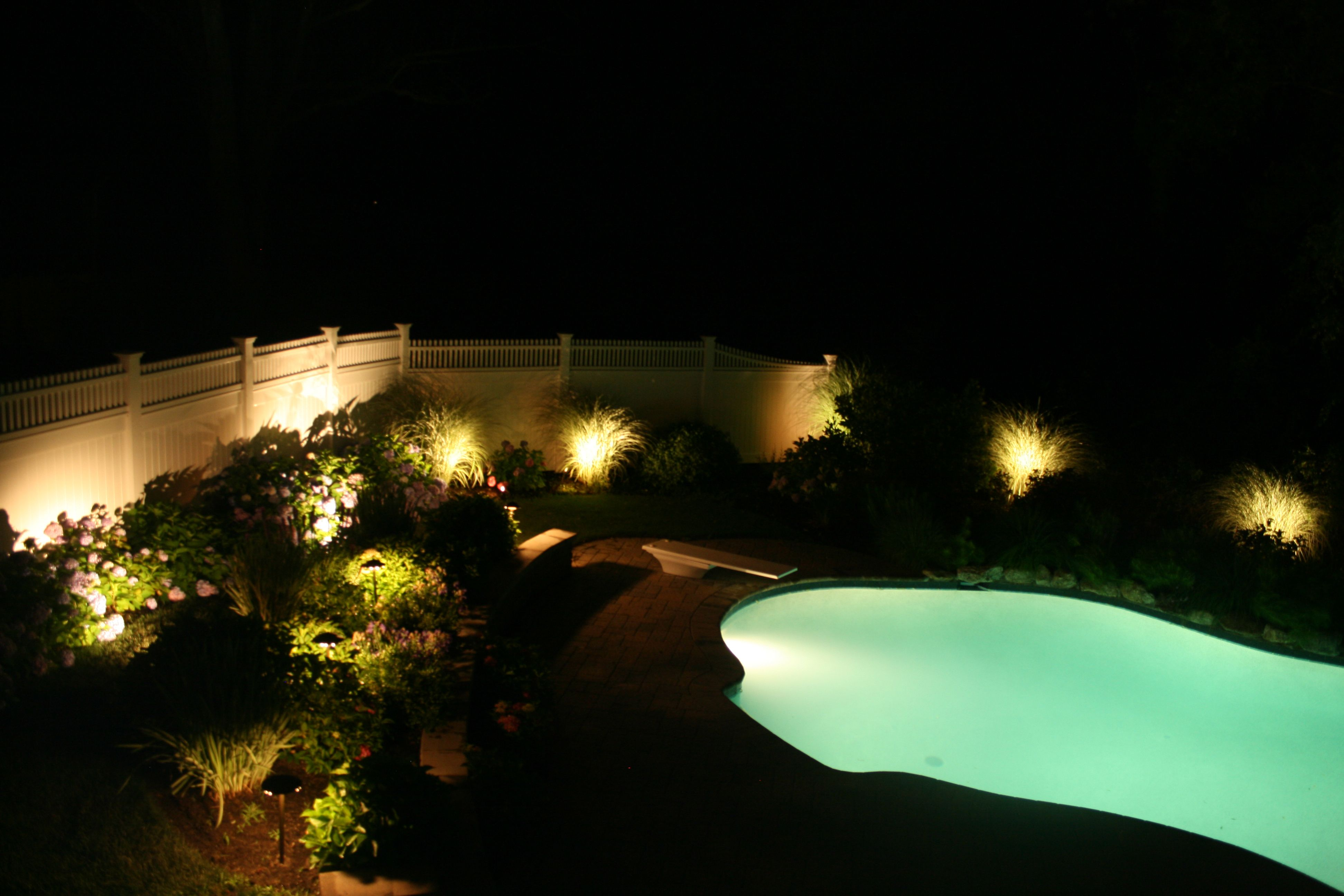 Landscape Lighting Around Pool Landscape Lighting Outdoor Lamp
