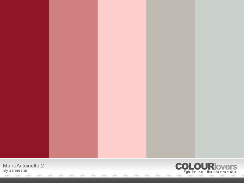 marie Antoinette colors
