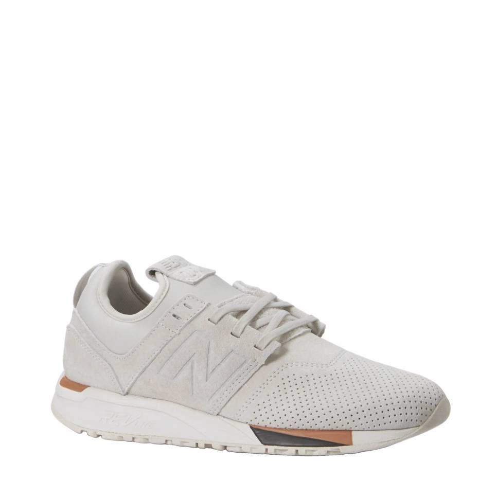 New Balance 247 sneakers Ecru/ wit #sneakers #wehkamp ...