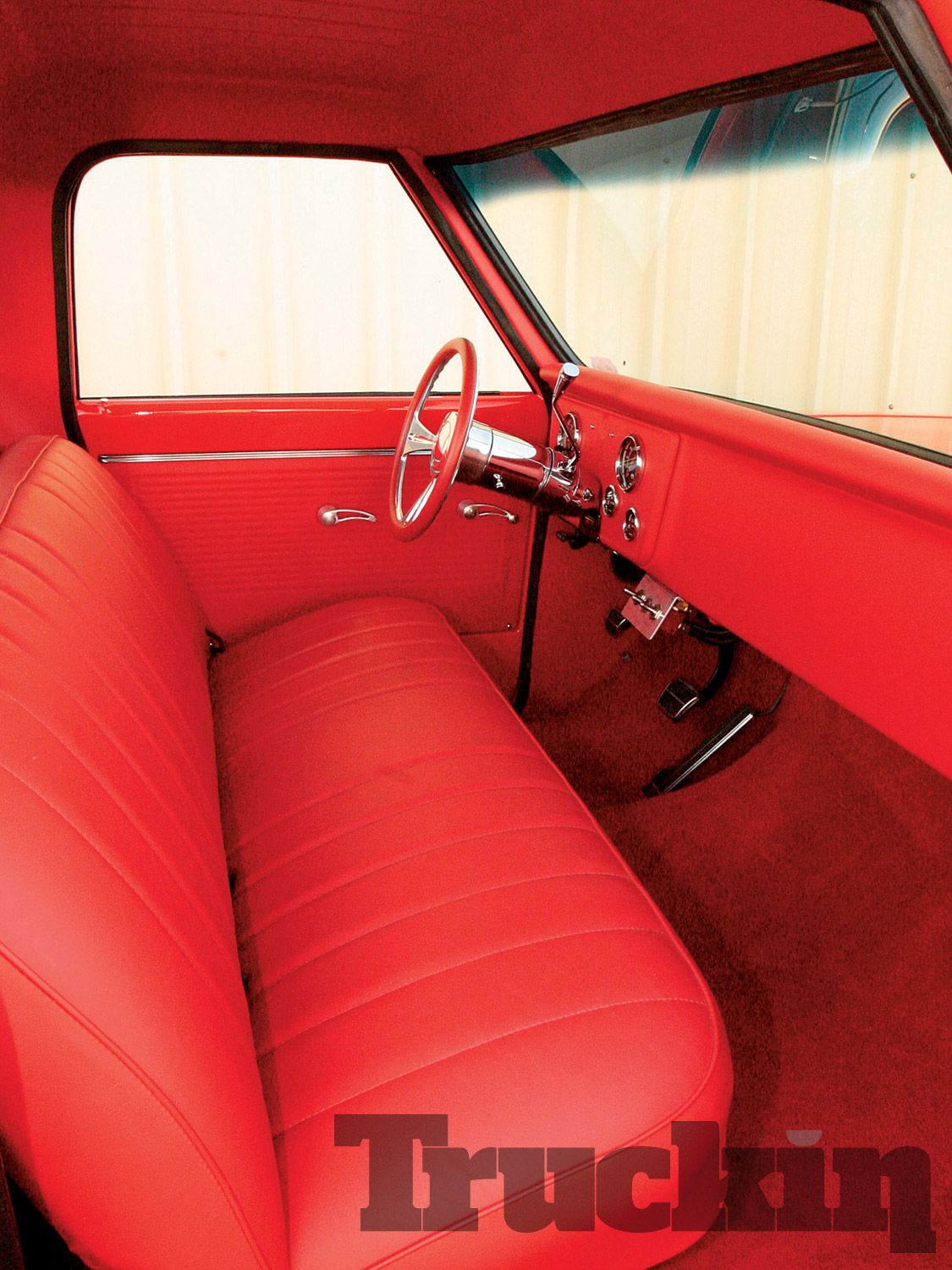 Red 72 Chevy Truck Parts Interior Trucks Sofa