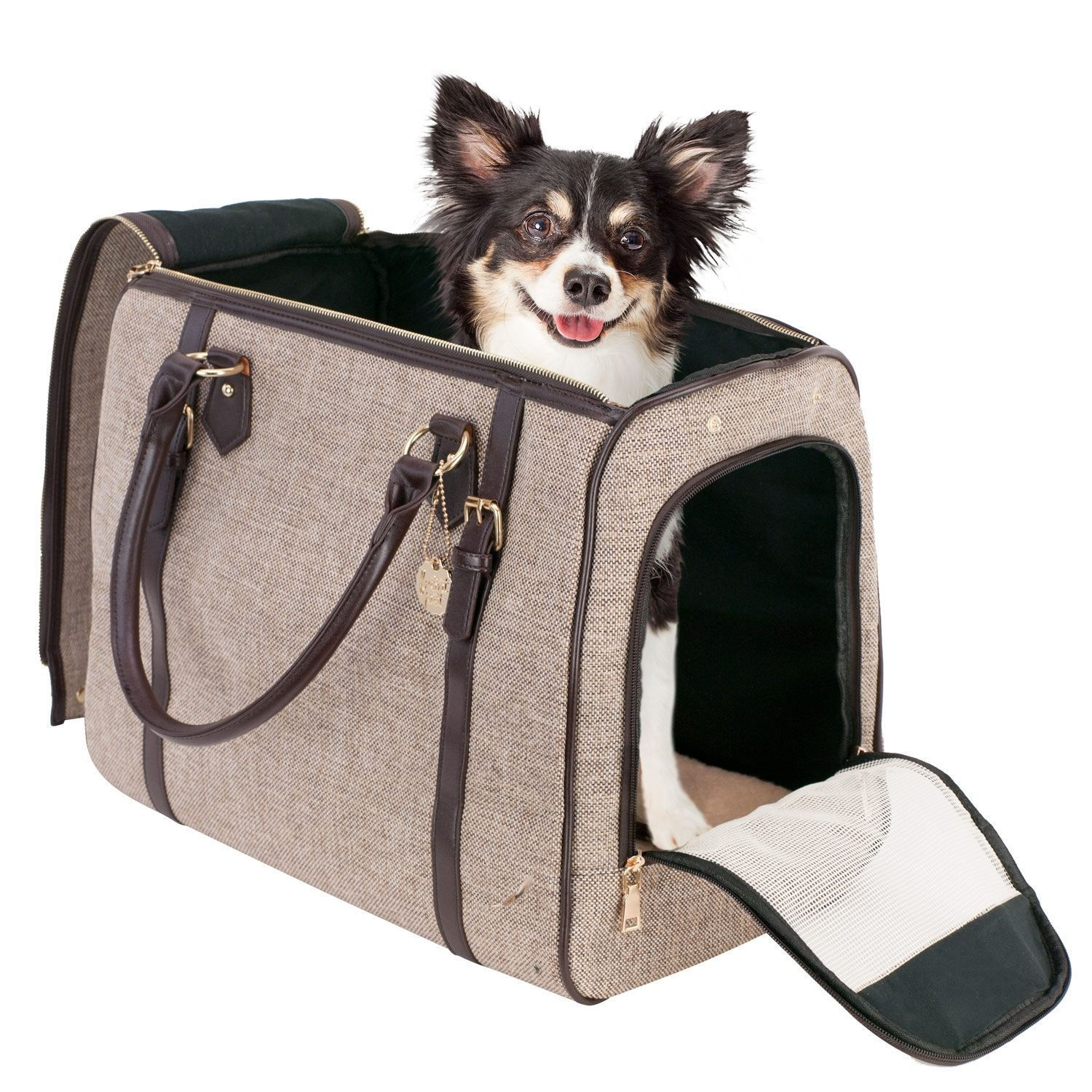 Travel With Your Pet In Style!<br>We at Frontpet strive in creating the most comfortable experience for both you and your pet. Our luxury pet carrier was designed by our expert engineers to make your ...