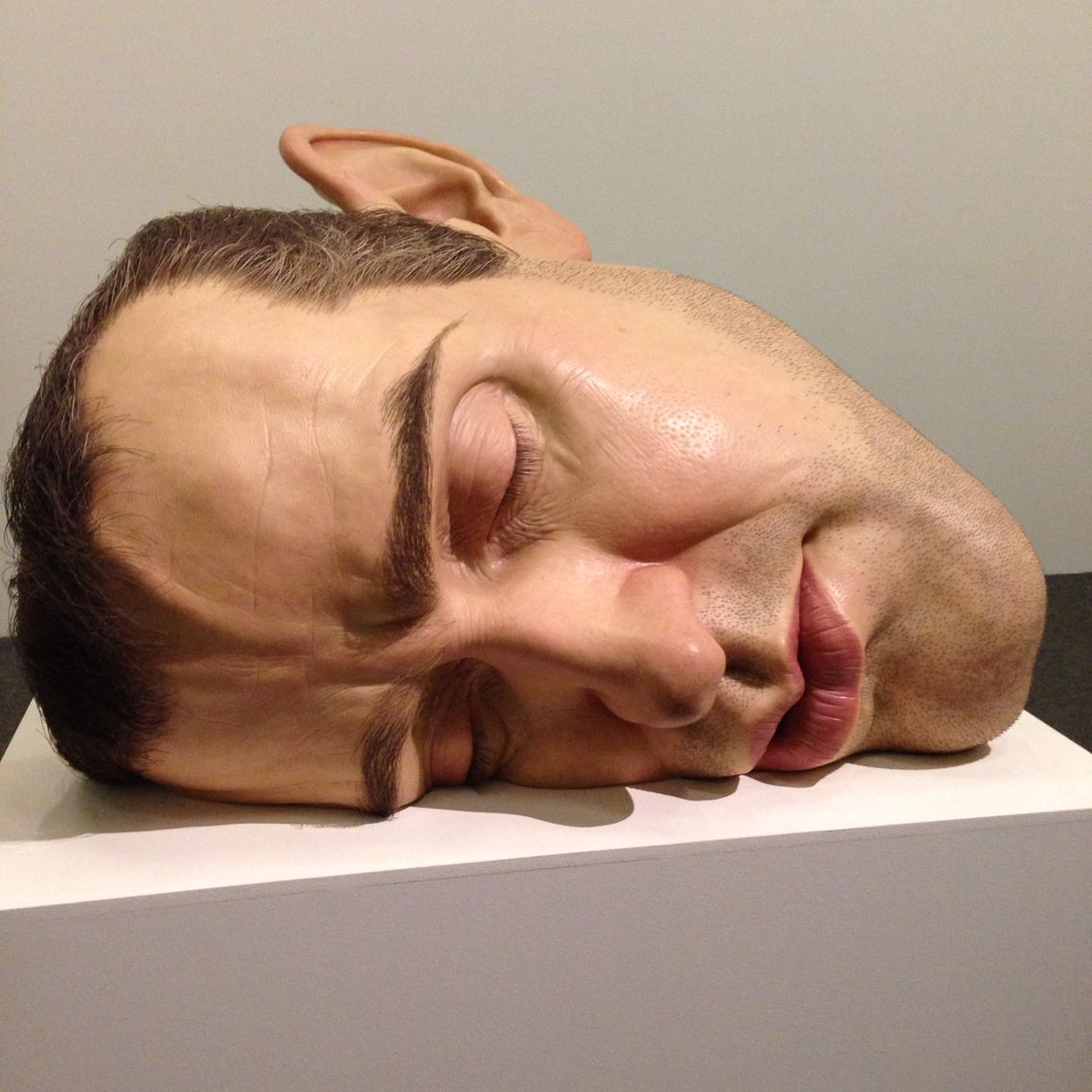 Ron Mueck exposition, São Paulo, Brazil