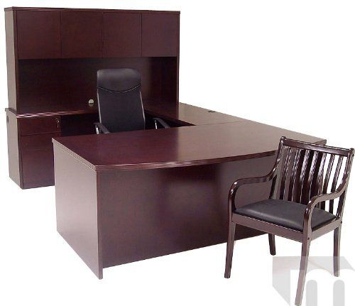 Mahogany Veneer Conference U Shaped Desk    2149 00  Gorgeous genuine wood  veneer office furniture. Mahogany Veneer Conference U Shaped Desk    2149 00  Gorgeous