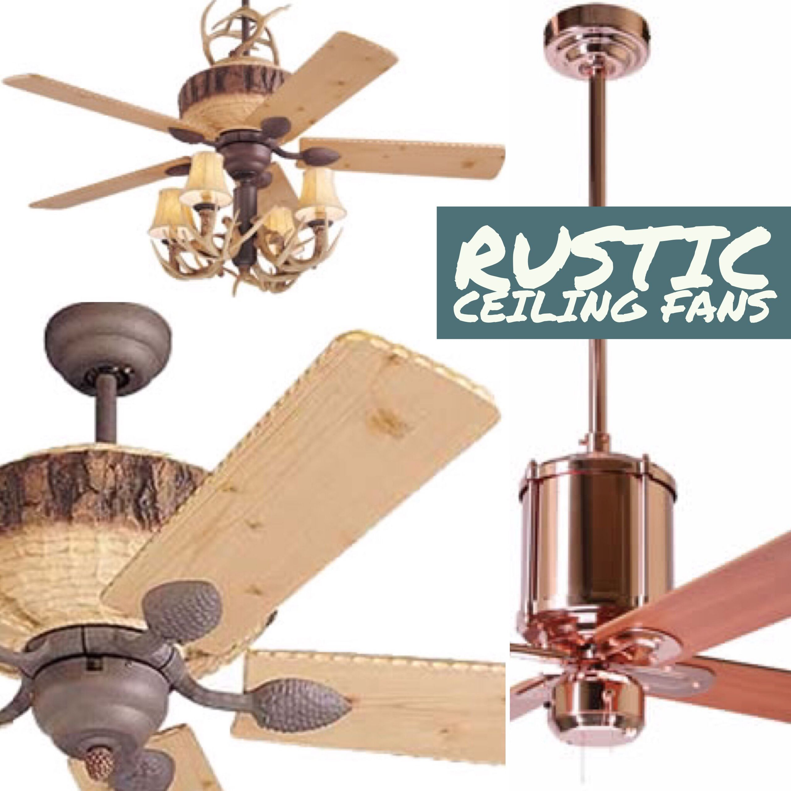 Rustic Ceiling Fans These Rustic Style Ceiling Coordinate With Your Cabin Style Interior Or Add An In Rustic Ceiling Fan Ceiling Fan With Light Rustic Ceiling