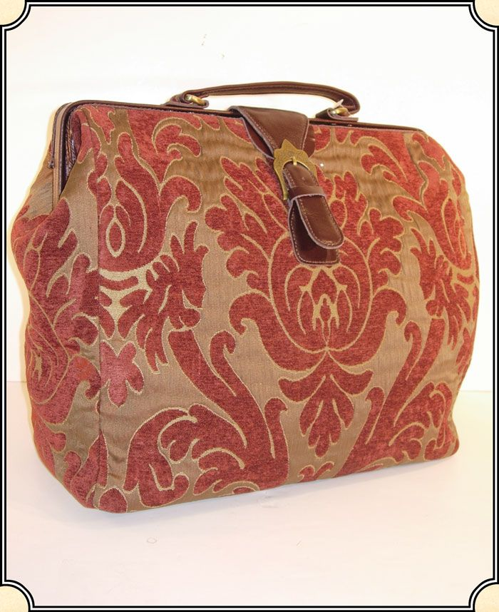 Great Get Away Carpet Bag Any Victorian Lady Would Love To