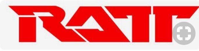 ratt logo. hair metal