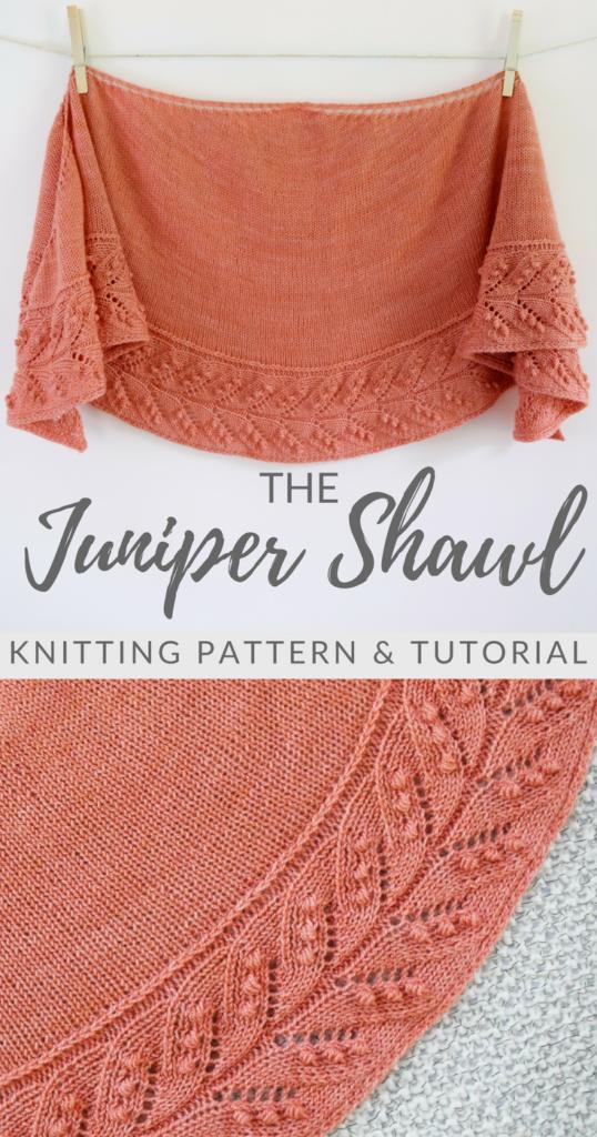 The Juniper Shawl