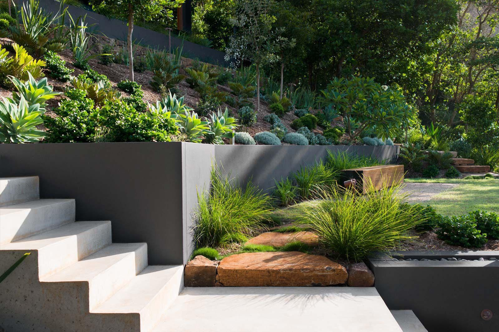 Landscape design: Wategoes Byron Bay - Secret Gardens   Urban garden design,  Modern garden, Garden design
