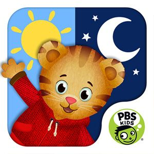Daniel Tiger\'s Day & Night App | Learn about morning and bedtime ...