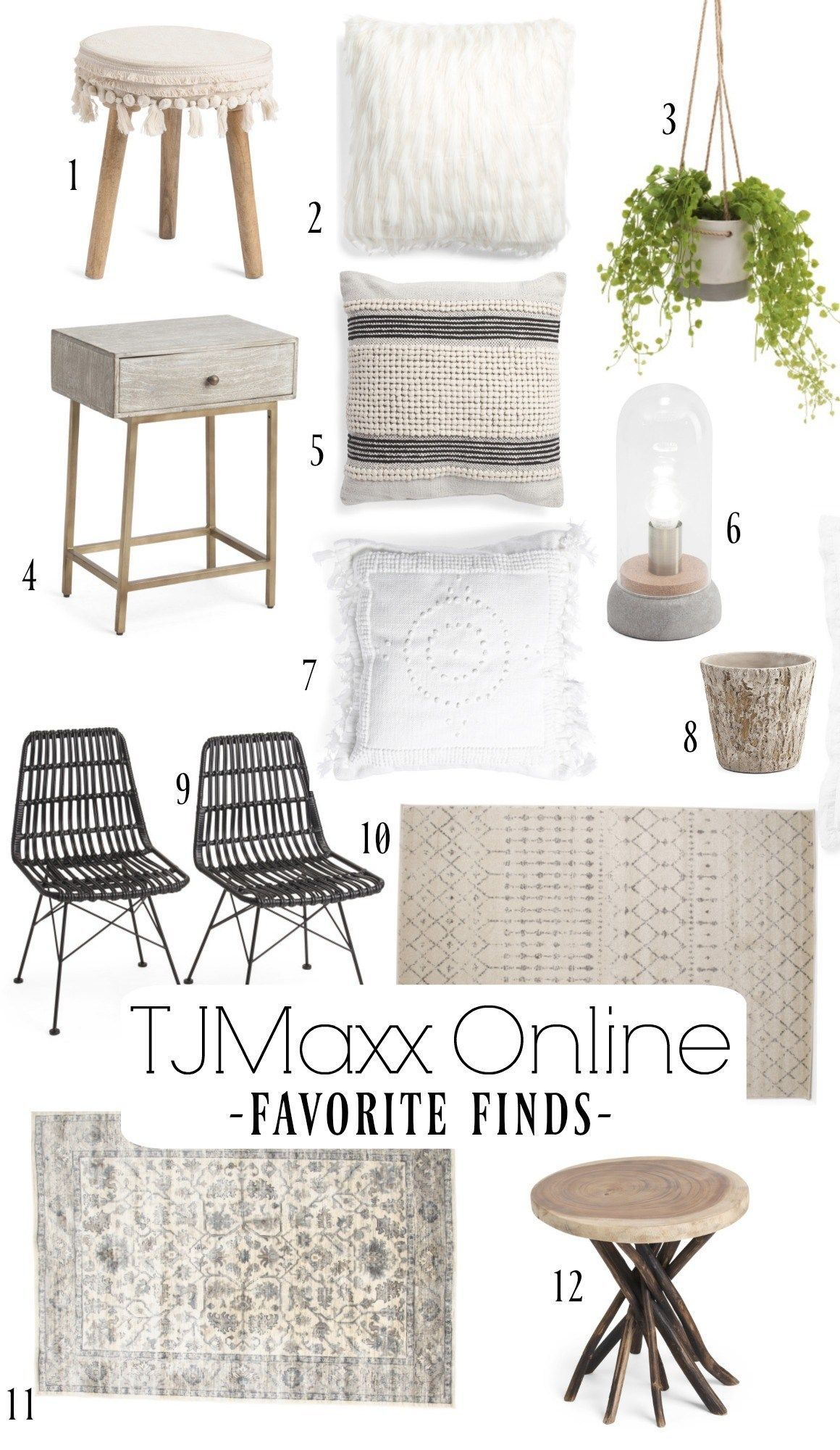 Amazing TJMaxx Home Decor Accessories These Are My Favorite Online Finds From Nesting With Grace Nestingwithgrace Homedecorideas Tjmaxx